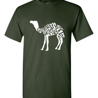 Guess What Day it is Hump day Camel Hump Day T Shirt Ladies And Mens Hump Day Shirt