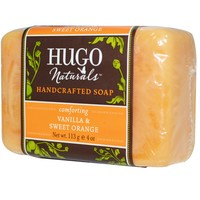 Hugo Naturals, Handcrafted Soap, Vanilla & Sweet Orange, 4 oz (113 g)