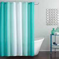 Blaire Shower Curtain in Peacock Blue