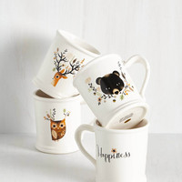 Rustic Acquaintance is a Virtue Mug Set by ModCloth
