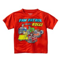 Paw Patrol ''On a Roll'' Tee - Toddler Boy, Size: