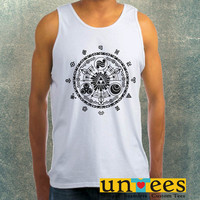 Time Gate Zelda Clothing Tank Top For Mens