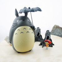 Totoro / Totoro money box/ money box/ saving box/ box/ miniature/ studio ghibli/ Miyazaki/ Home Decor/ Gift - Totoro 1 pc Only