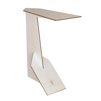 Laser cut wood narrow side table,wood c table,sofa table,couch table,sofa tray table,small sofa end table,modern sofa table,couch arm table