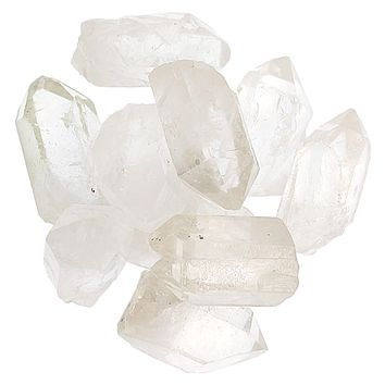 Crystal Clear Quartz Points