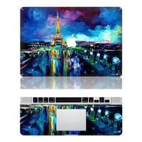Eiffel-Macbook Cover Protector Decal Laptop Art Sticker Skin Mabook Skin for Apple Macbook Pro/ Macbook Air/ipad 2