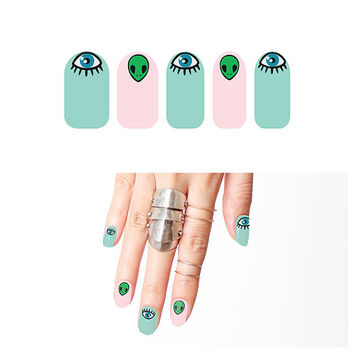 Eye in the Sky - Nail Wraps (Set of 22)