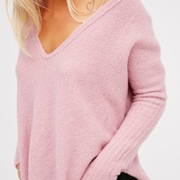 Free People Cloud Surfing Cashmere Pullover
