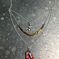 Follow the Yellow Brick Road Necklace