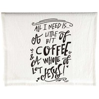 Coffee & Jesus Tea Towel | Hobby Lobby | 1168137