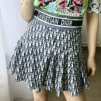 Dior Oblique Fashion Mini Skirt