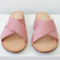 Gretchen Sandals - Dark Peach