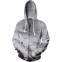 Above the Clouds Zip Up Hoodie