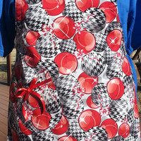 Fully Lined Women's Holiday Apron