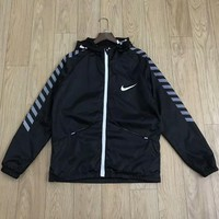 NIKE 2018 counter new running sports casual breathable anti-mite skin clothing F-CY-MN Black