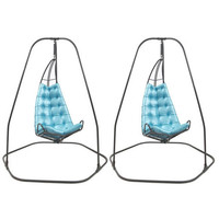 Pair of Fabulous Hanging Chairs at 1stdibs
