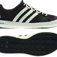 adidas Outdoor Boat CC Lace Boat Shoe - Men's Mustang Brown/Chalk/Black 10