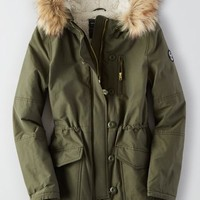AEO Women's Long Parka