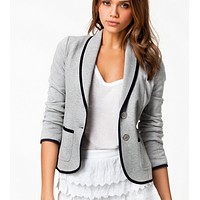 fhotwinter19 Women's autumn new slim and thin short lapel suit