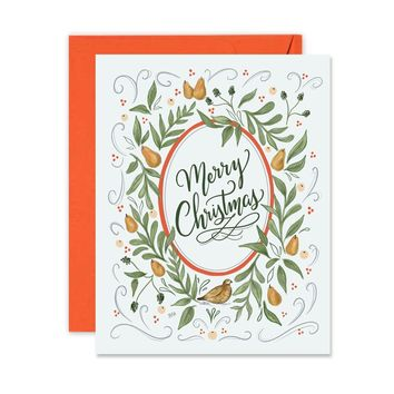 Partridge in a Pear Tree - A2 Note Card