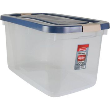 Rubbermaid Roughneck Clear Tote - Walmart.com