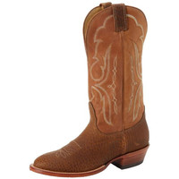 Nocona Boots Mens Leather Stitch Details Cowboy, Western Boots