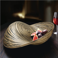 """Striped Bowl """"Bamboo"""" - Modern art? Extravagant dish? This giant bamboo bowl is both. - Pro-Idee Concept Store - new ideas from around the world"""