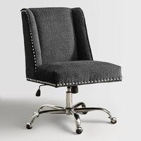 Charcoal Heathman Upholstered Office Chair