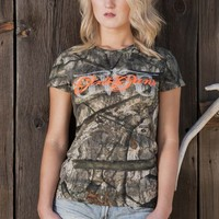 GWG Mossy Oak Tree Stand® Tee | Girls with Guns Clothing