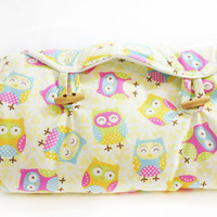 Owl Nappy Wallet and Change Mat Baby Portable Accessories Diaper Wallet Woodland