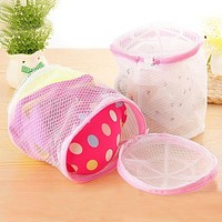 New Qualified New Women Delicate Convenient Bra Lingerie Wash Laundry Bags Home Using Clothes Washing Net Hot Selling