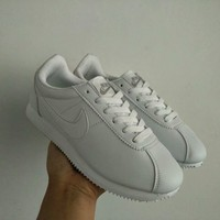 """Nike Cortez"" Unisex Classic Casual Fashion Leather Running Shoes Couple Sneakers"
