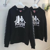KAPPA Women Fashion Long Sleeve Top Sweater Pullover
