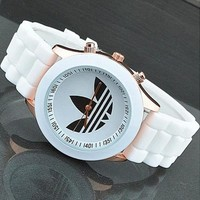 Adidas Woman Men Simple Quartz Watches Wrist Watch-2
