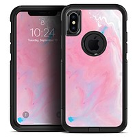 Marbleized Pink Paradise V7 - Skin Kit for the iPhone OtterBox Cases