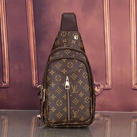 Louis Vuitton LV Women Leather Backpack Crossbody Satchel