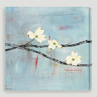 """Dogwood on Blue II"" by Laura Gunn - World Market"