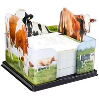 Cows In the Field Acrylic Notepad Holder