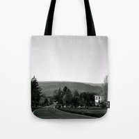 Old Road Tote Bag by Emilytphoto