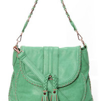 Saddle Up Sea Green Handbag by Urban Expressions