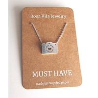 Camera Necklace for Photography Lovers and Enthusiasts