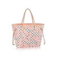 "Louis Vuitton Limited Edition Neverfull Mm 4523 ""NWT"""