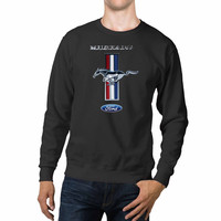 Mustang Logo Ford Symbol Unisex Sweaters - 54R Sweater