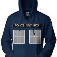 Doctor Who Be the TARDIS Hoodie | Vintage TV Show Shirts