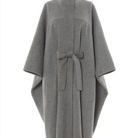Double-Faced Herringbone Cape   Womens Clothing   Jaeger