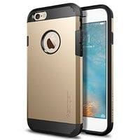 iPhone 6s Case, Spigen® [Tough Armor] HEAVY DUTY [Rose Gold] EXTREME Protection Dual Layer Case for iPhone 6 (2014) / 6s (2015) - Rose Gold (SGP11741)
