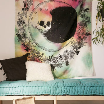 Tie-Dye Moon Tapestry   Urban Outfitters