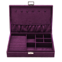 Rectangle Velvet Jewelry Storage Box