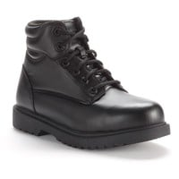 Grabbers Kilo Slip-Resistant 6-in. Steel-Toe Work Boots - Men (Black)