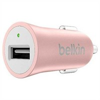 Belkin Mixit Metallic Lightweight 2.4 Amp Car Charger - Rose Gold - Walmart.com